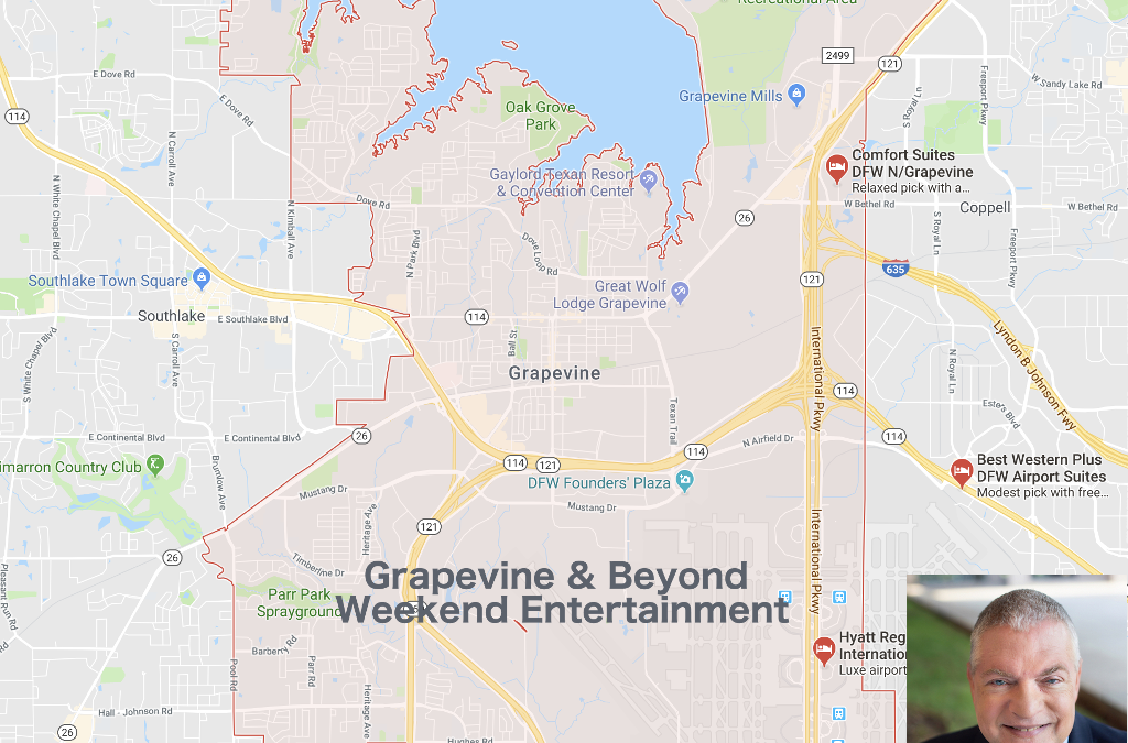 What's happening in Grapevine, Texas and beyond this weekend November 9th, 2018!